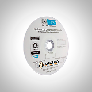 Atualização scanner automotivo NAPRO PC-SCAN3000 USB versão 16