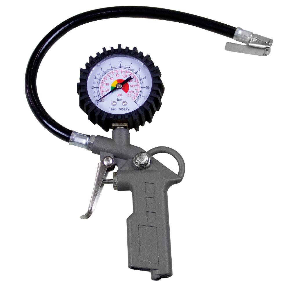 Calibrador Analógico com Bico de Ar portátil 170 Lbs