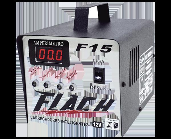 Carregador de Bateria inteligente 12V FLASCH