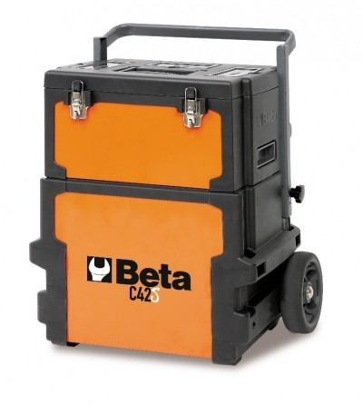 Carro para ferramentas Beta tipo trolley c/ dois módulos