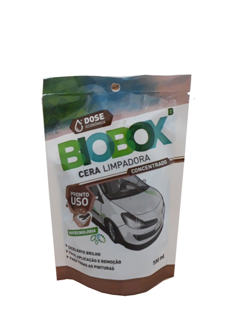 Cera limpadora - dose única BIOBOX RADIEX 100 ML