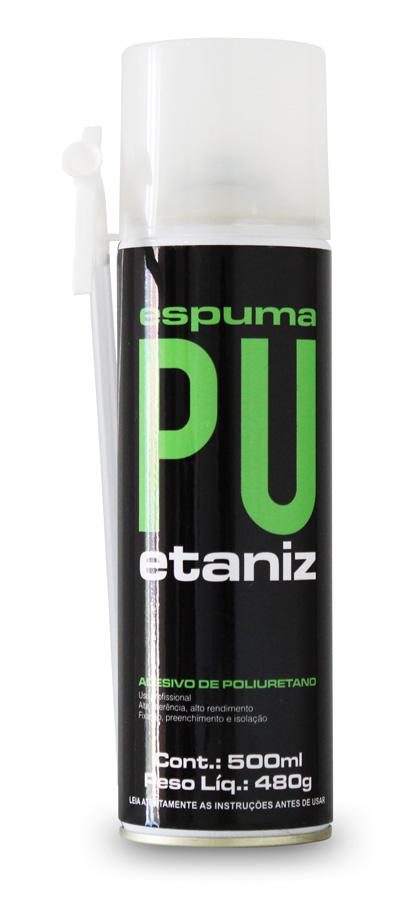 Espuma de Poliuretano Etaniz 480gr/500ml