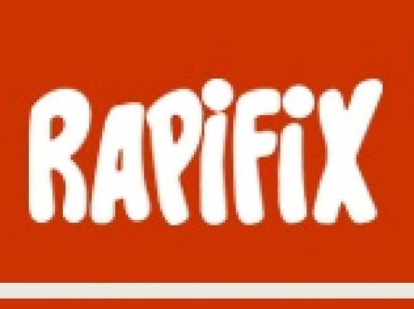 Fita crepe RAPIFIX 18x40 - Caixa com 66 unidades