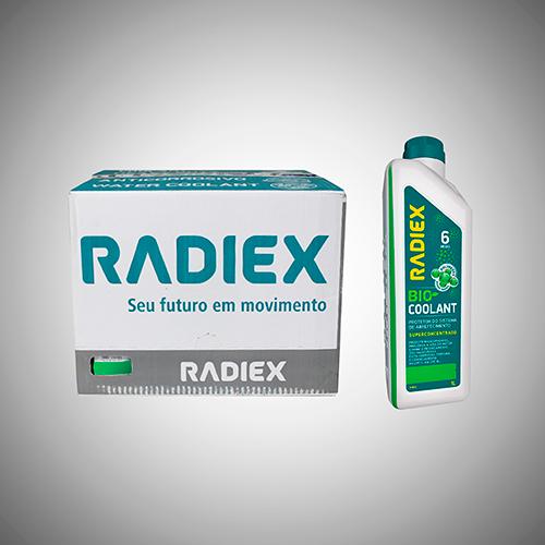 CAIXA 16 Radiex Bio Coolant Superconcentrado Verde R1882
