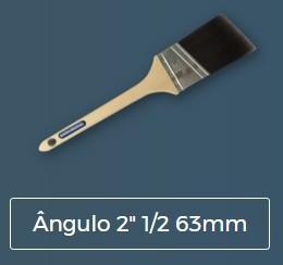 """Pincel EXIN ROYAL ÂNGULO 2"""" 1/2 63 mm"""