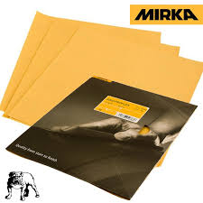 Lixa Folha PROFLEX GOLD MIRKA 230 x 280 mm P120