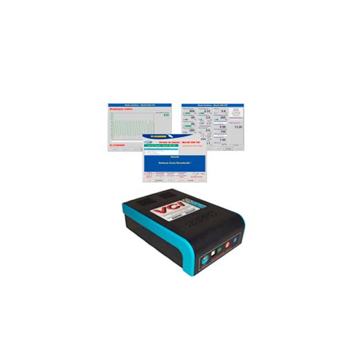 Scanner Automotivo NAPRO PC-SCAN3000 FL Versão 18 c/ 5 cabos e conectores