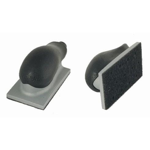 Taco para Lixamento MIRKA Aspirado Velcro 70 x 198 mm 22 Furos Médio