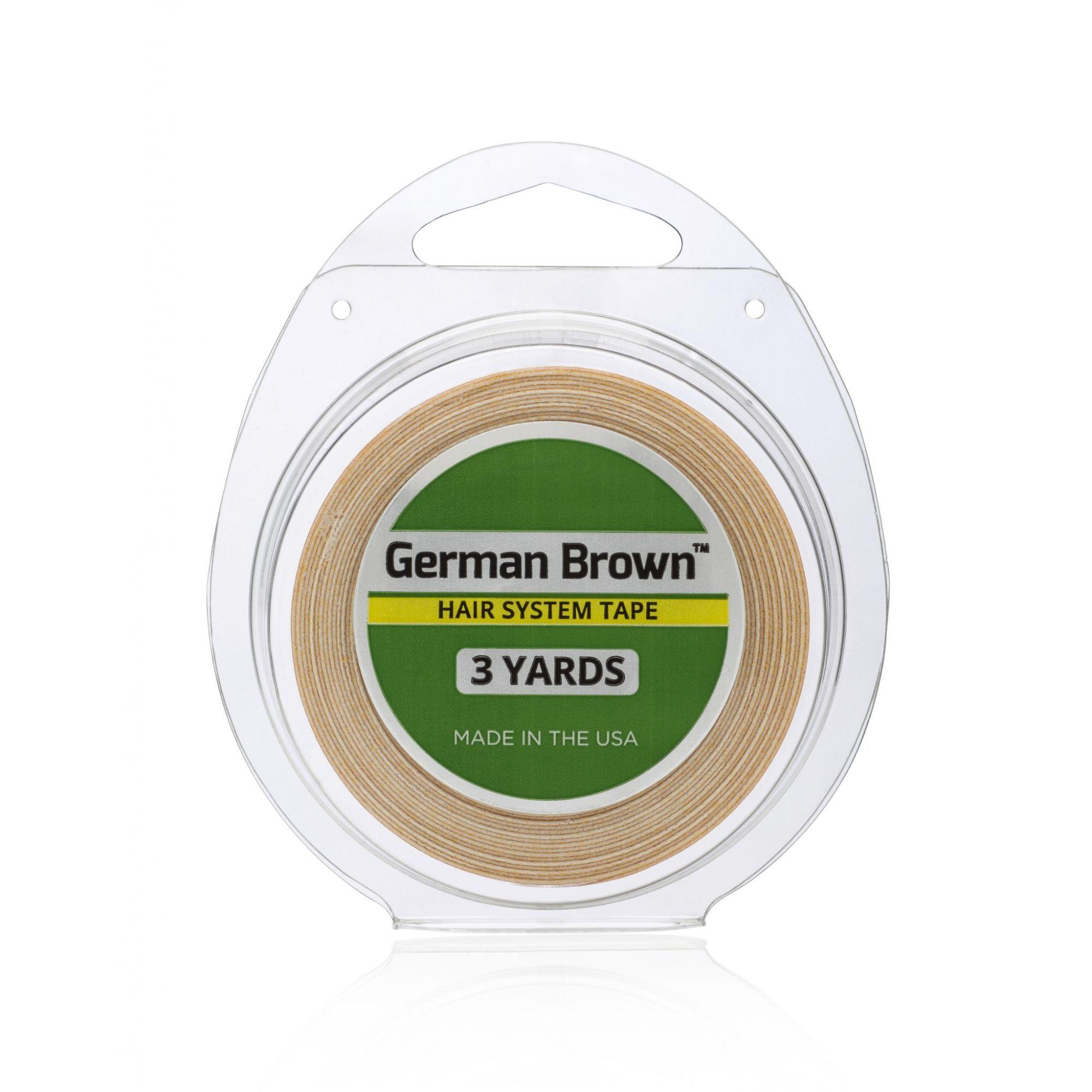Fita Adesiva Amarela German Brown 3 metros 3/4