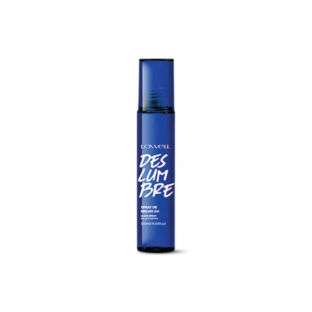 Spray de brilho  Deslumbre  Lowell 120ml