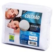 PROTETOR DE COLCHÃO 100% ALGODÃO CASAL PERMEÁVEL