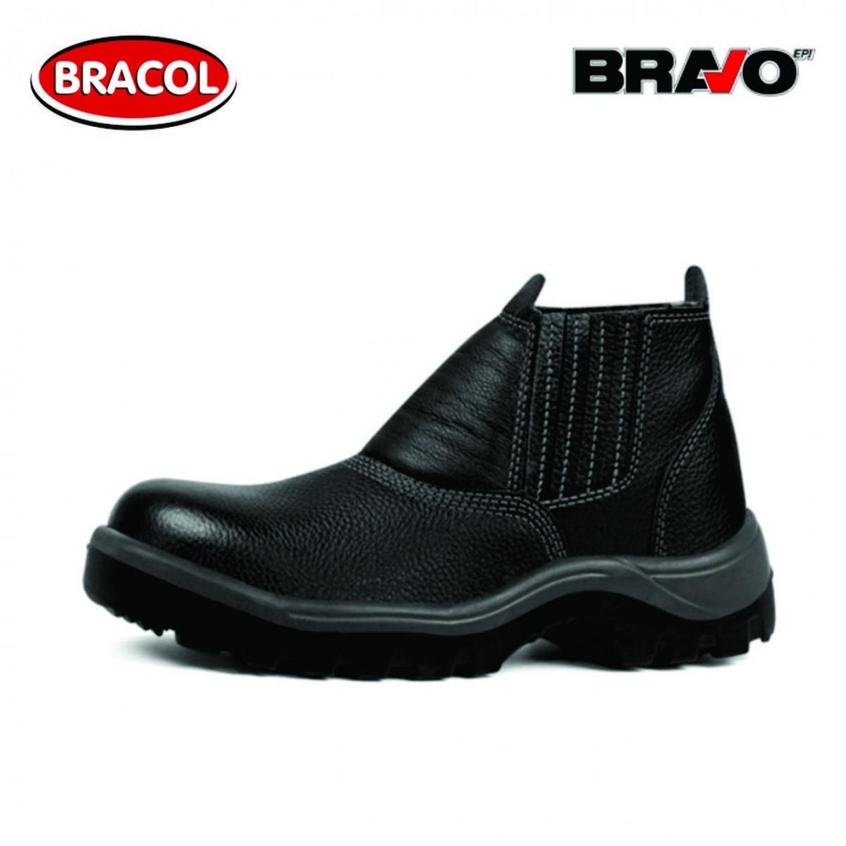 4112ac46d Botina Elástica Bravo - Bracol - NormasBR EPI's