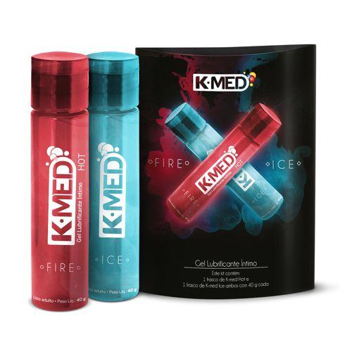 Lubrificante Íntimo K-MED Fire e Ice  - Condomania