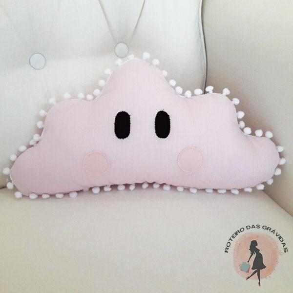 Almofada Núvem P rosa