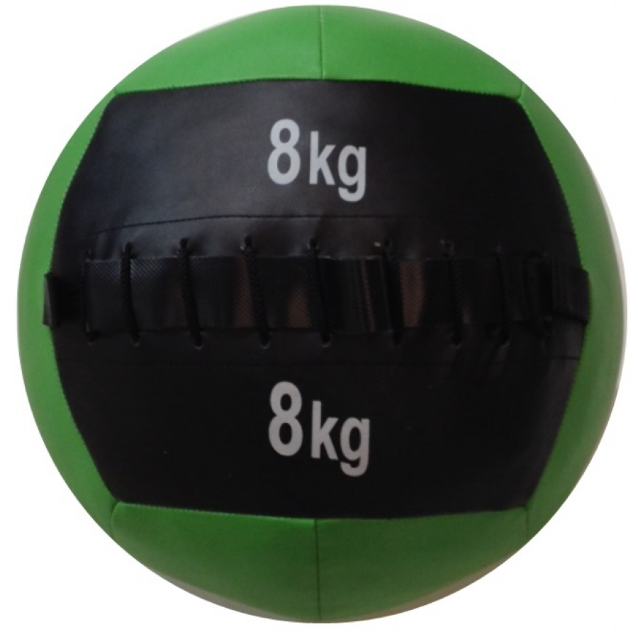 Wall Ball em PU 8,00kg Wellness