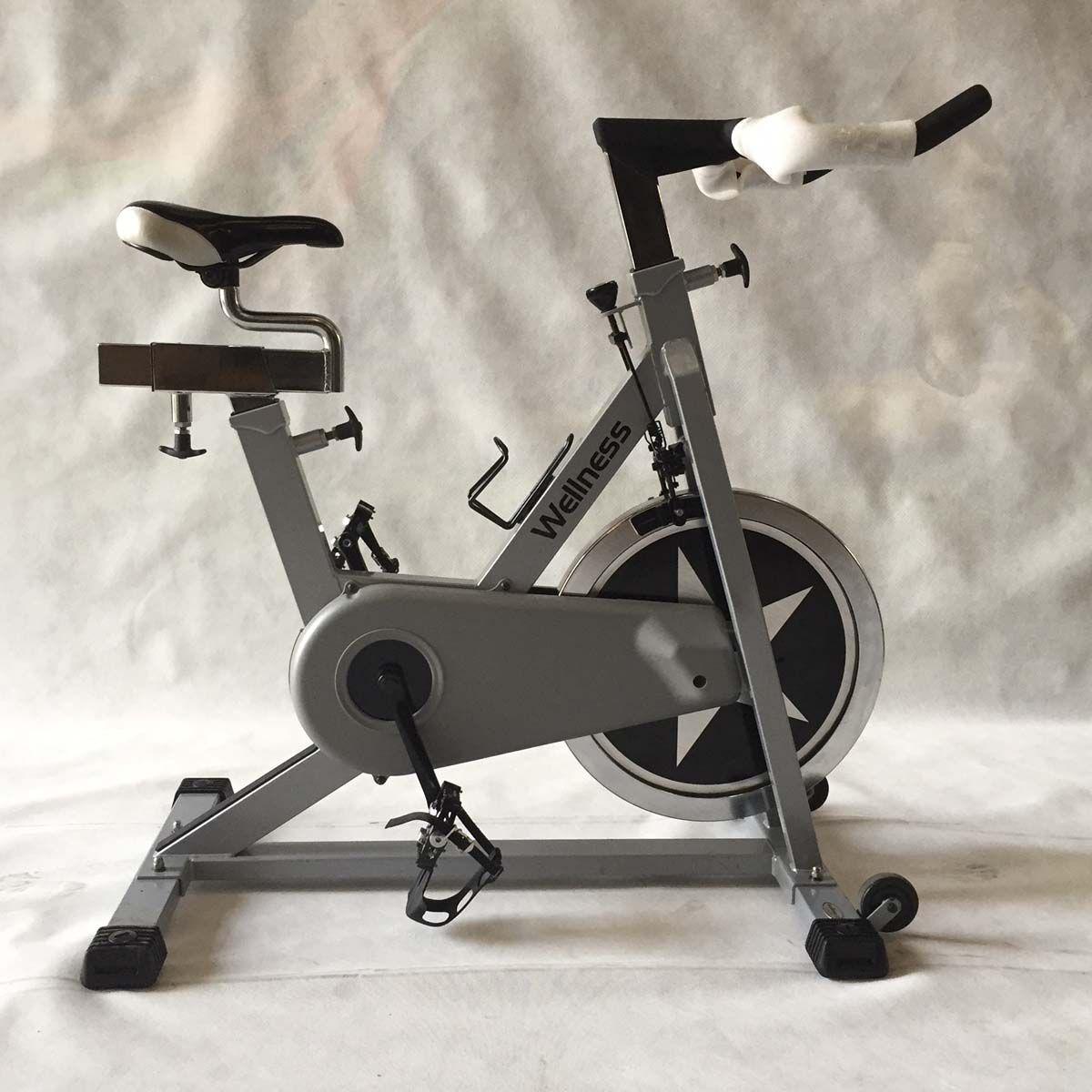 Bike Spinning Wellness Comp Peça Showroom Com Roda Preta