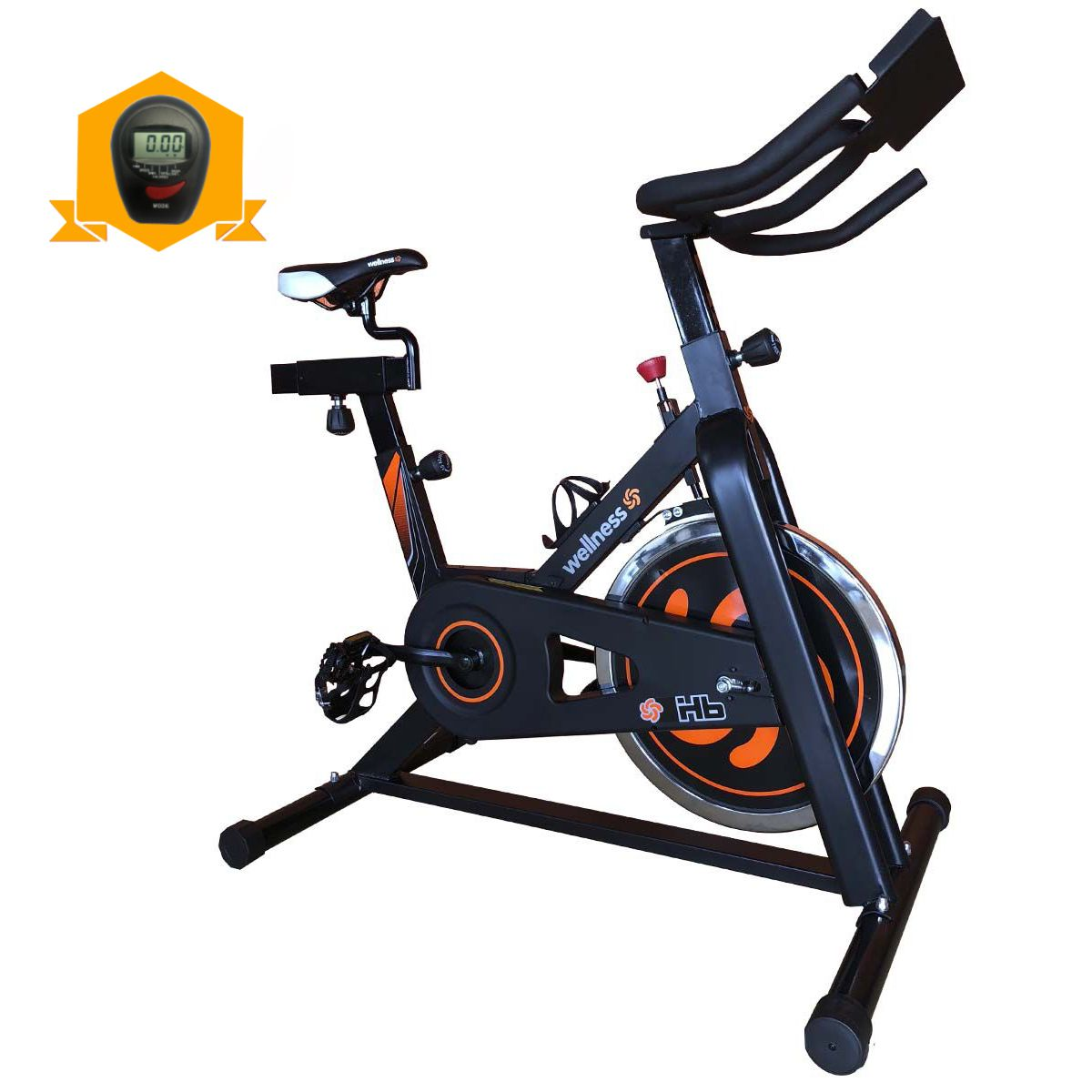 Bike Spinning Wellness Hb Residêncial Com Painel