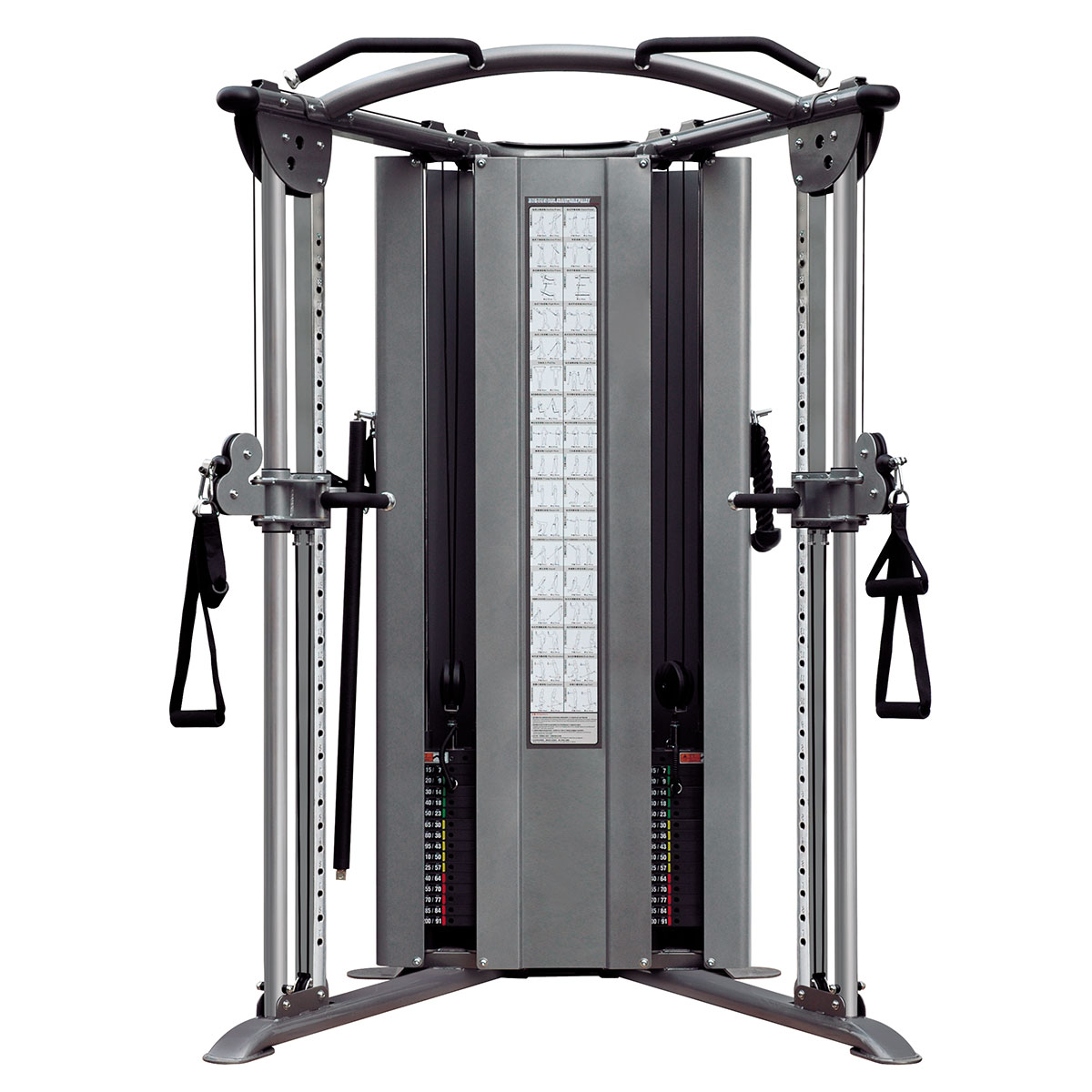 Dual Adjustable Pulley 200 lbs 90kg