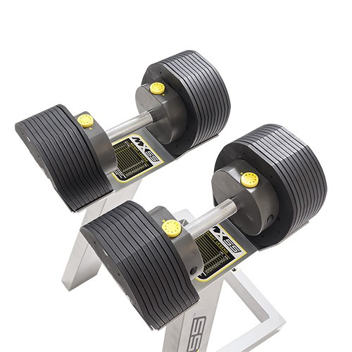 Dumbbell Regulável com Estante MX55