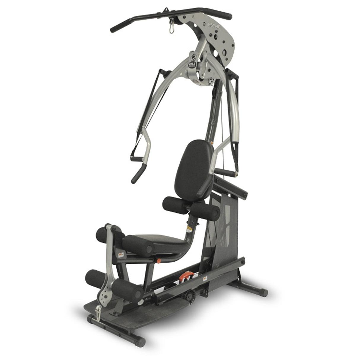 Estação de Musculação Multi Exercícios sem Placas de Pesos Inspire Body Lift Home Wellness