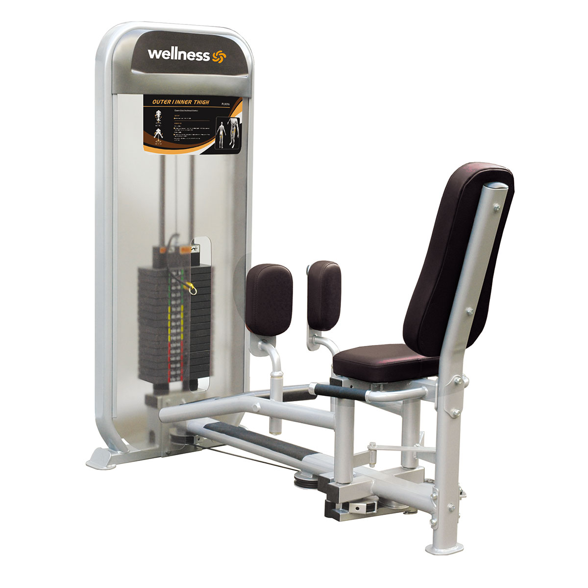 Inner/Outer Thigh  - Plamax Dual Series Wellness
