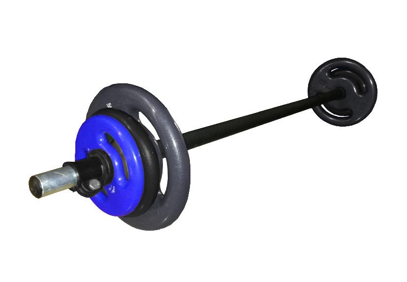 Kit Pump Wellness - 1 Barra com 3 pares de Anilhas