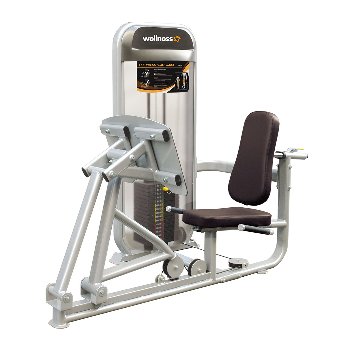 Leg Press  - Plamax Dual Series Wellness
