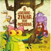 """Livro """"A Jacarezinha que mordia"""""""