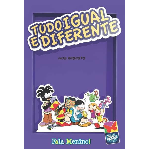 """""""Tudo igual e diferente - um papo sério sobre diversidade"""" – Luis Augusto"""