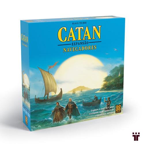 Catan - Expansão Navegadores  - Tschüss
