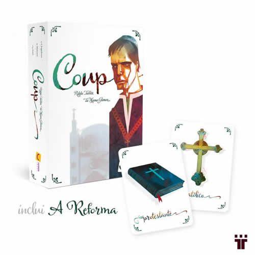 """Coup 2ª Edição - Inclui Expansão """"A Reforma""""  - Tschüss"""