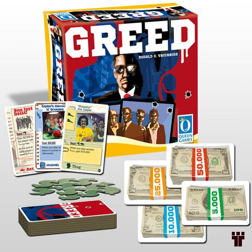 Greed  - Tschüss