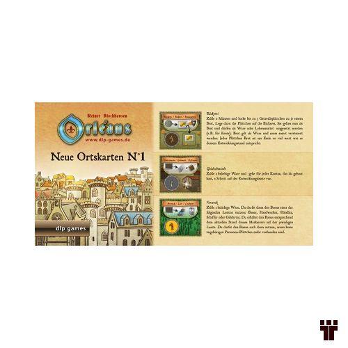 Orléans - Neue Ortskarten nº 1  - Tschüss