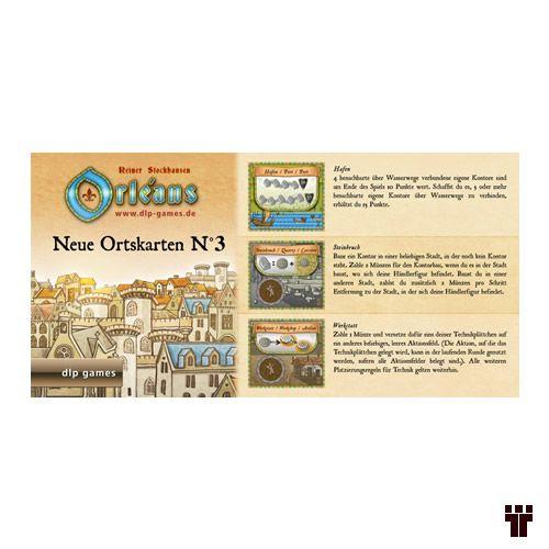 Orléans - Neue Ortskarten nº 3  - Tschüss