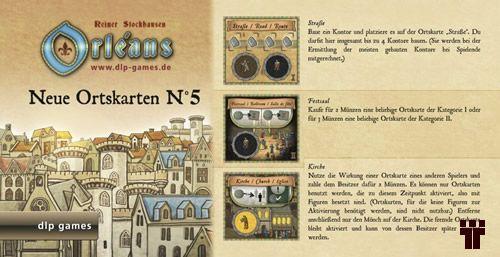 Orléans - Neue Ortskarten nº 5  - Tschüss