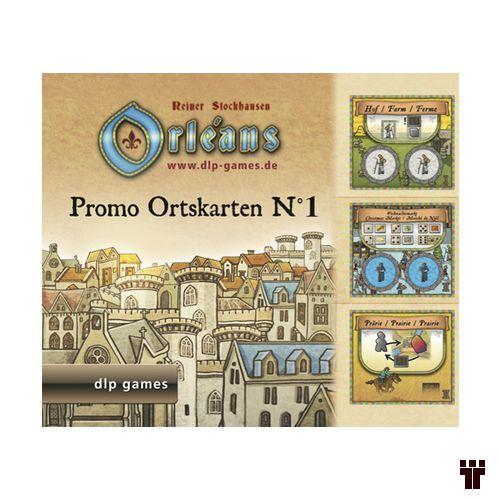 Orléans - Promo Ortskarten nº 1  - Tschüss