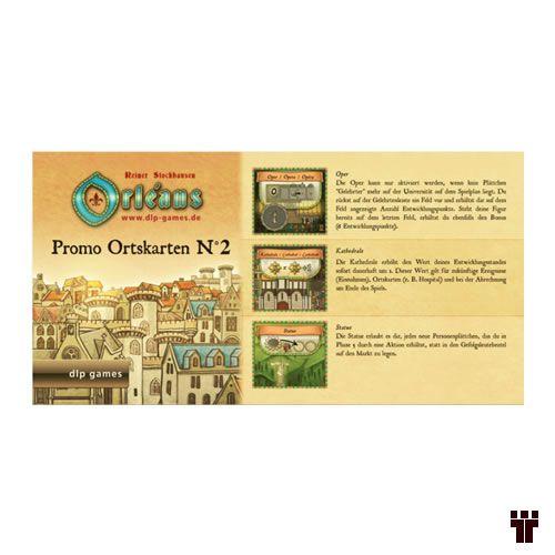 Orléans - Promo Ortskarten nº 2  - Tschüss