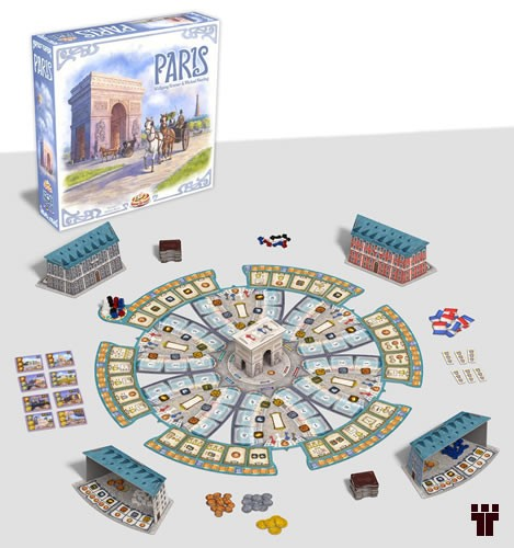 Paris  - Tschüss