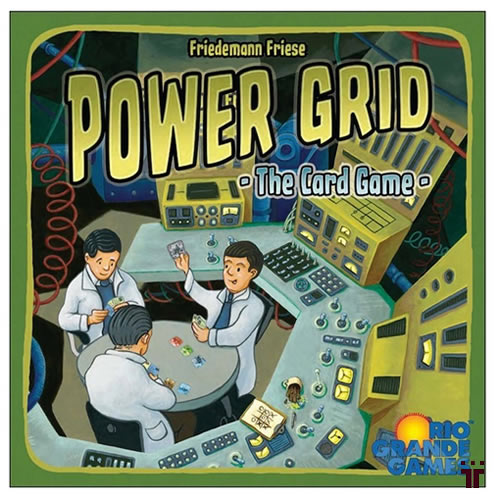 Power Grid: The Card Game - Autografado - Tschüss