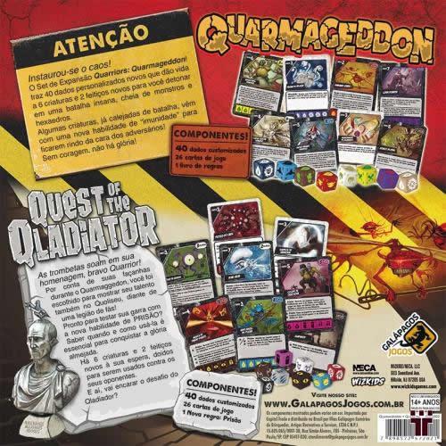 Quarriors - Quarmagedon e Quest of The Qladiator  - Tschüss