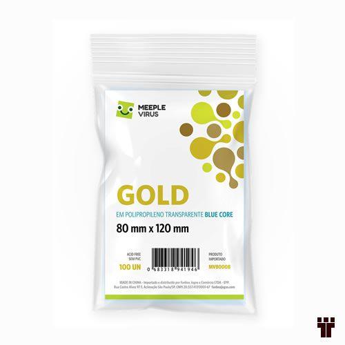Sleeves Gold 80 X 120 mm  - Tschüss