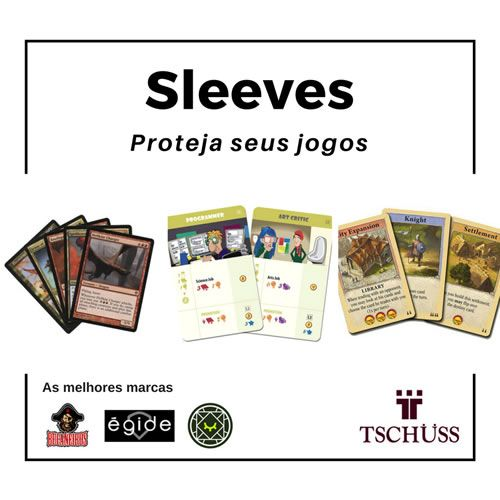 Sleeves Padrão USA 56 X 87 mm  - Tschüss