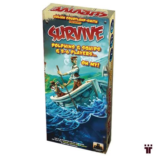 Survive: Dolphins & Squids & 5-6 Players...Oh My!  - Tschüss