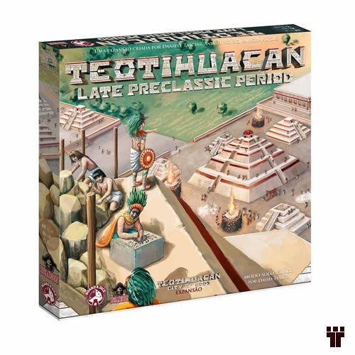 Teotihuacan: Late Preclassic Period + Promos + Insert  - Tschüss