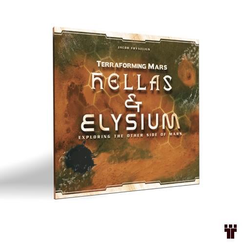 Terraforming Mars: Hellas & Elysium  - Tschüss