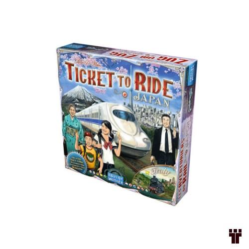 Ticket to Ride - Japão e Itália  - Tschüss