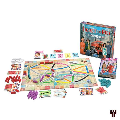 Ticket to Ride: Londres  - Tschüss