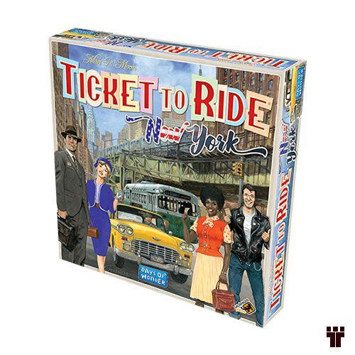Ticket to Ride: New York  - Tschüss