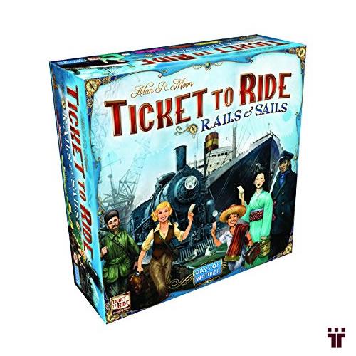 Ticket to Ride: Rails and Sails  - Tschüss