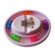 Conjunto de porta alfinete magnético com porta bobinas